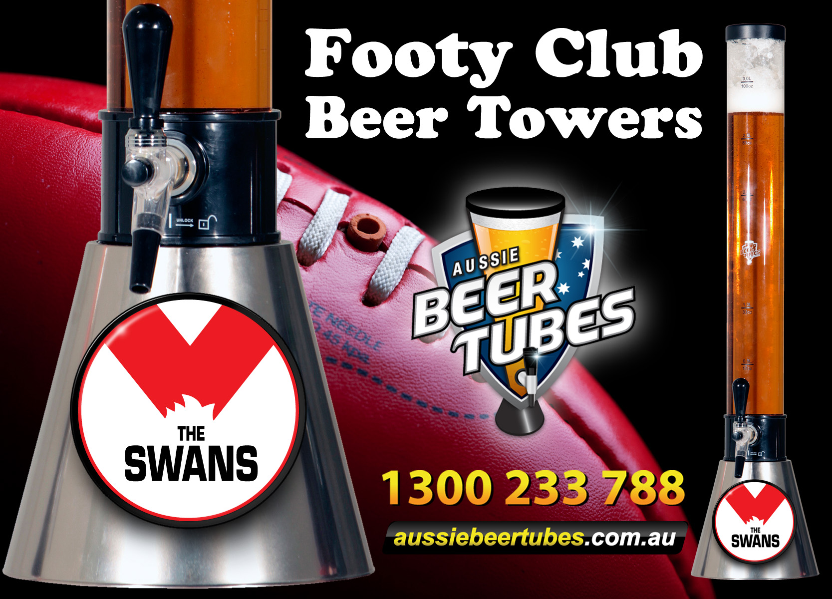 Swans Beer Towers